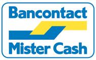 Schaduwdoekkeuze.nl Mister Cash Bancontact betaling